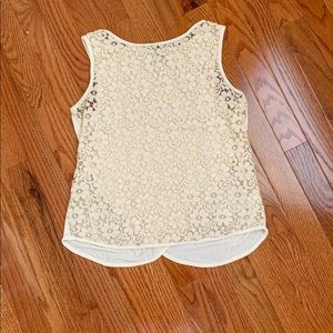 ☀️Weston Wear Off White Lace Top Size S